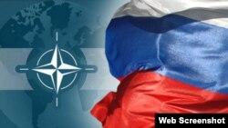 Rusiya-NATO bayraqları