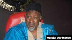 Gwamna Mohammad Badaru Abubakar na Jihar Jigawa, arewacin Najeriya