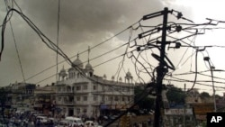 印度恢復電力供應