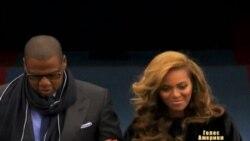 Келлі Кларксон та Бейонсе співають для Обами