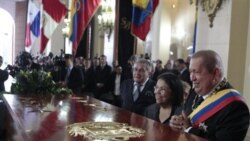 چاوز از تابوت جديد سيمون بوليوار پرده برداری کرد