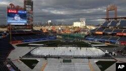 Здесь прошла «Зимняя Классика», в январе 2012 г.