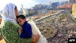 Площадь Тахрир 4 февраля 2011г.