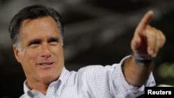 Mitt Romney speaking in Ohio