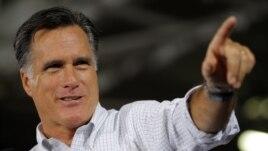 Mitt Romney speaking in Ohio