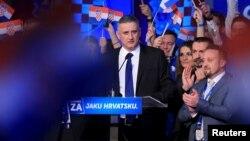 Tomislav Karamarko, lider Domoljubne koalicije i predsednik HDZ-a u Zagrebu, 9. novembar 2015.