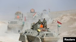 IS လက္က Mosul ျပန္သိမ္းပိုက္ႏုိင္ေရး ကန္တပ္ေတြ ကူ