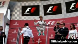 """Formula-1"" Avropa Qran-Prisinin qalibi ""Mercedes""in pilotu Niko Rosberq"