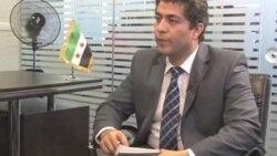 گفتگوی علی جوانمردی با رئیس شورای ملی سوریه
