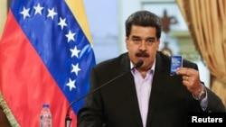 Tổng thống Venezuela Nicolas Maduro.