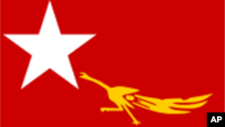 National League for Democracy (NLD)'s flag