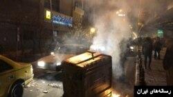 تجمع اعتراضی در اشتهارد کرج - آرشیو