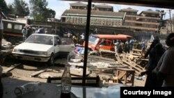 Mlipuko wa bomu ndani ya soko la Gikomba Nairobi May 16 2014