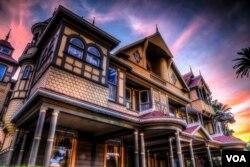 位于加州圣荷西的温彻斯特鬼屋