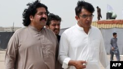اراکین قومی اسمبلی محسن داوڑ اور علی وزیر (فائل فوٹو)