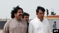 محسن داوڑ اور علی وزیر۔ (فائل فوٹو)