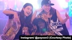 L'actrice Pajaree Na Nakorn déguisée en artiste hip-hop.