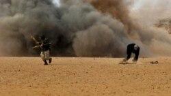 حمله هواپیماهای جنگی دولت لیبی به تاسیسات نفتی
