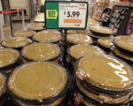 Although pumpkin pie is now a Thanksgiving tradition, it is unlikely the pilgrims ate it.