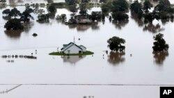 德克萨斯州部分地区的暴雨成灾。