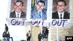 Người biểu tình muốn ông Mubarak rời khỏi nước ngay tức khắc, 4/2/2011