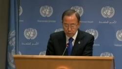 Ban Ki-moon pide que armas químicas en Siria sean destruidas