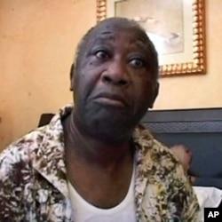 Laurent Gbagbo à l'hôtel du Golf
