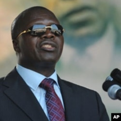Albert Mabri Toikeusse a member of Ivory Coast's main RHDP opposition coalition (file photo)
