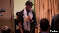 Rodman Returns from 'Basketball Diplomacy' Trip to North Korea