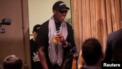 Rodman Returns from 'Basketball Diplomacy' Trip to North Korea
