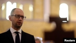 Arsenij Jacenjuk, predsednik prelazne Vlade Ukrajine