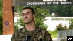 十年前在伊拉克消失的一名美國海軍陸戰隊隊員哈桑。(資料圖片)