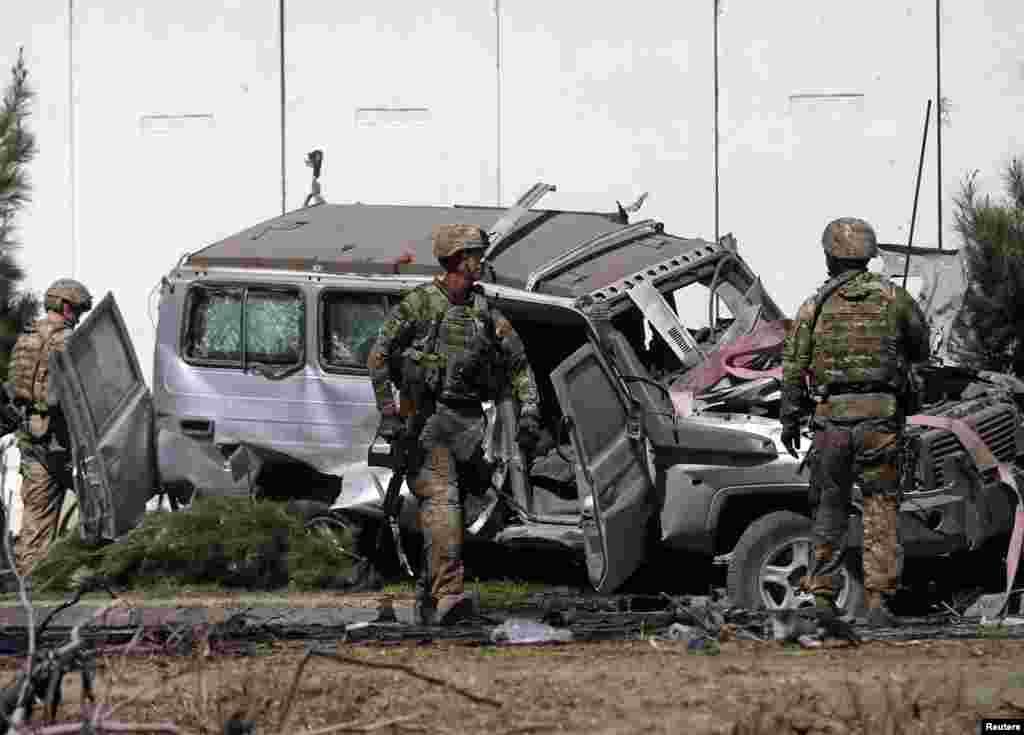 طالبان نے اس حملے کی ذمہ داری قبول کی ہے۔