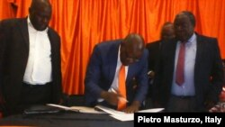 Tendai Biti's People's Democratic Party is now part of the Coalition of Democrats.
