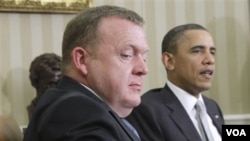 Los dos líderes conversaron, entre otros temas, sobre la situación en Afganistán y en Libia.