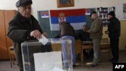 Glasanje u opštini Zvečan
