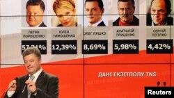 پترو پوروشنکو پیروز انتخابات ریاست جمهوری اوکراین
