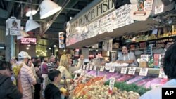 Customers at Pike Place Fish Market are finding a different selection of seafood now that the stall is going sustainable.