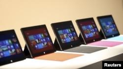 Surface, la tablet de Microsoft fue presentada en el evento en Nueva York.
