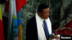 Le président éthiopien Mulatu Teshome, 10 octobre 2016