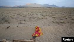 Les abords du Lac Turkana, région où les paléontologues ont trouvé une hémimandibule d'Epirigenys lokonensis