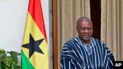 Shugaban Kasar Ghana, John Dramani Mahama