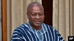 Shugaban kasar Ghana John Dramani Mahama