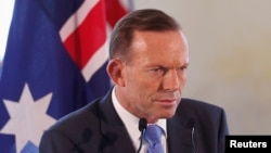 澳大利亞總理阿博特。