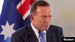 PM Australia Tony Abbott menjanjikan bantuan $165 juta untuk mengatasi perubahan iklim (foto: dok).