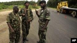 Patrulha em Cabinda (foto de arquivo)