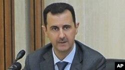 Shugaban Syria, Bashar al-Assad.