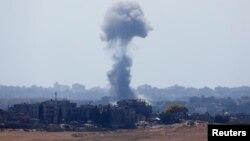 哈马斯拒绝停火条款后以色列恢复对加沙的空袭。