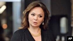 Pengacara terkait Kremlin Natalia Veselnitskaya, 8 November 2016. (Foto: dok).