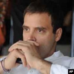 Rahul Gandhi, a lawmaker and son of India's ruling Congress party chief Sonia Gandhi. (file photo)